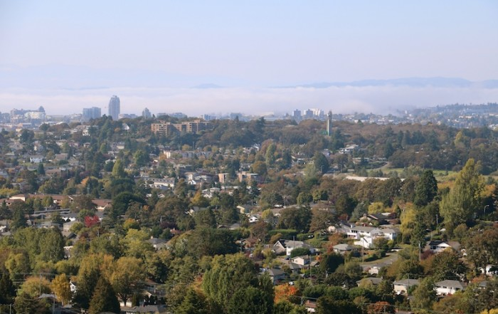 View of Victoria from Mt. Tolmie