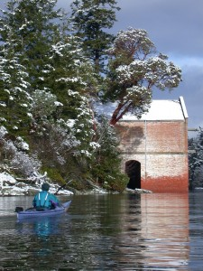 Kayaking around Cole Island, Esquimalt