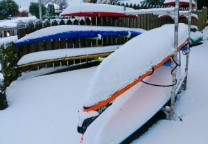 Kayaks at Westbay Marine Village
