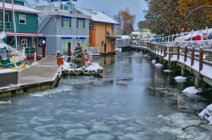 Westbay Marine Village Snow, Victoria, BC