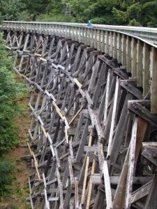 Todd Creek Trestle, Galloping Goose