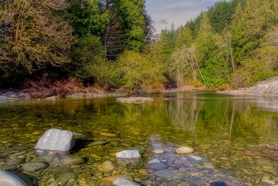 Sooke River, Sooke Potholes Provincial Park