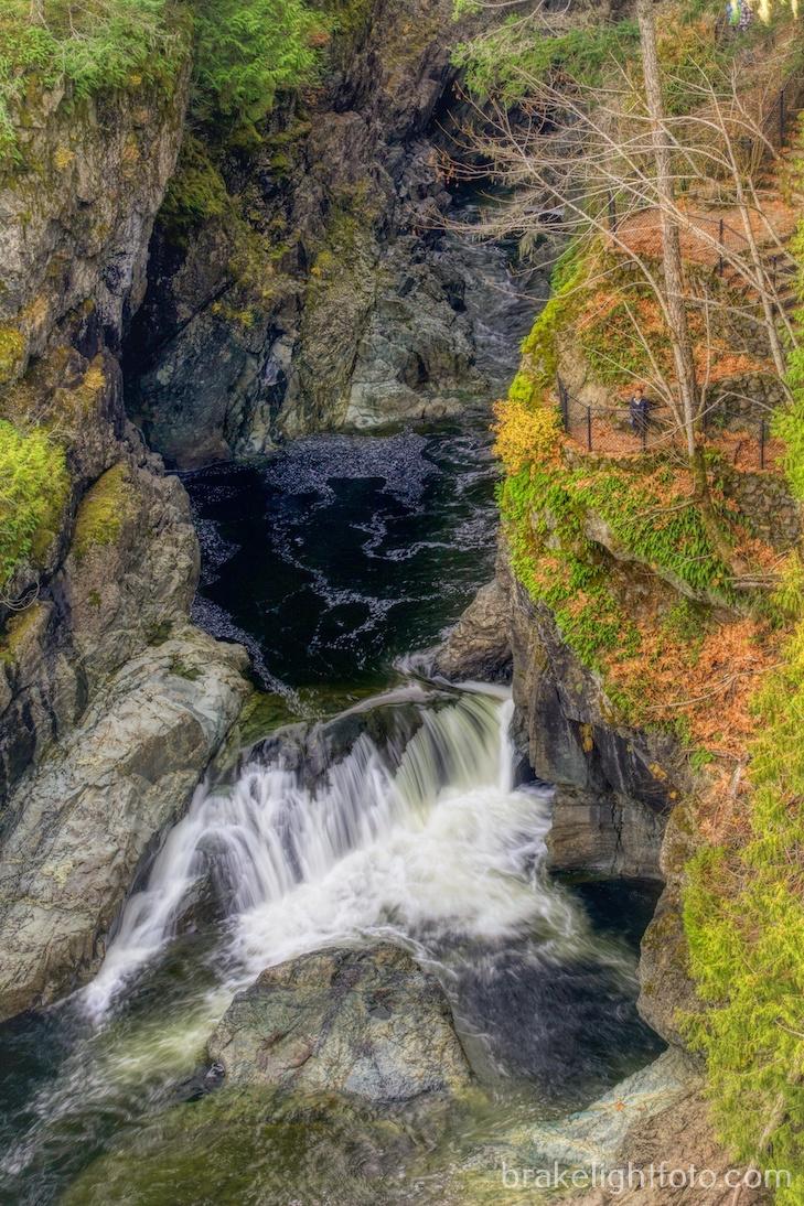 Sooke Potholes waterfall