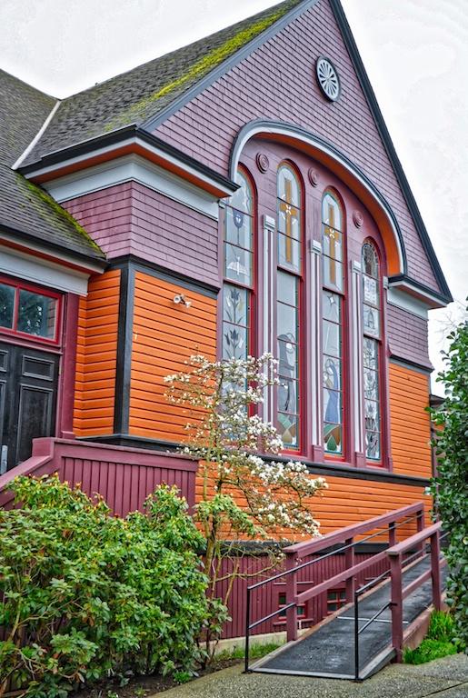 James Bay United Church, Victoria, BC Visitor in Victoria
