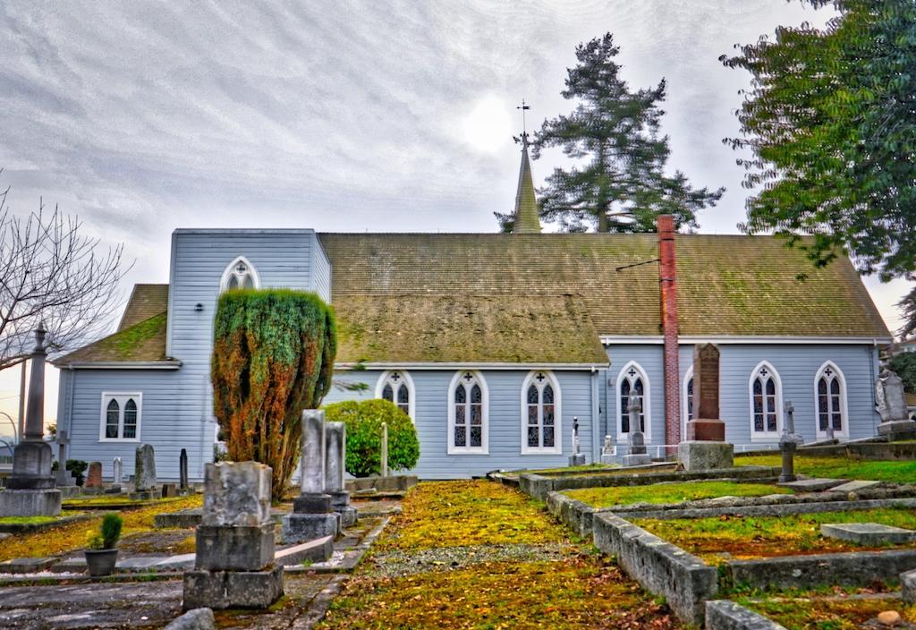 ST. Luke's Anglican Church, Victoria, BC Visitor in Victoria