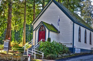 Shady Creek United Church Victoria, BC Visitor in Victoria