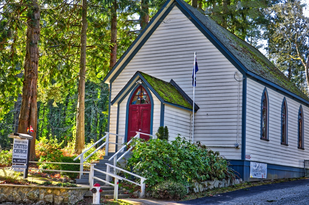 Shady Creek United Church Victoria, BC Visitor in Victoria