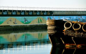 The 'Unity Wall' on the Ogden Point Breakwater