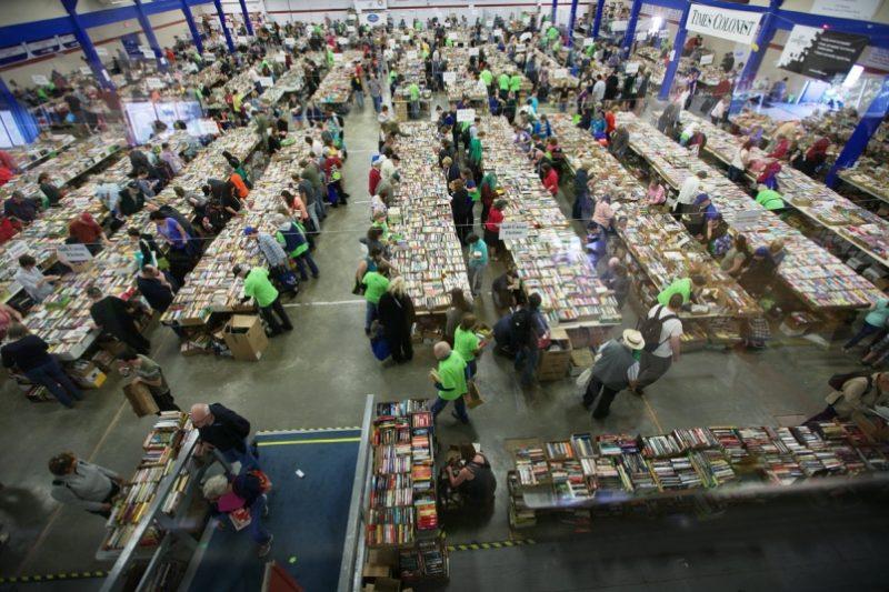 Times Colonist Book Sale, Victoria, BC