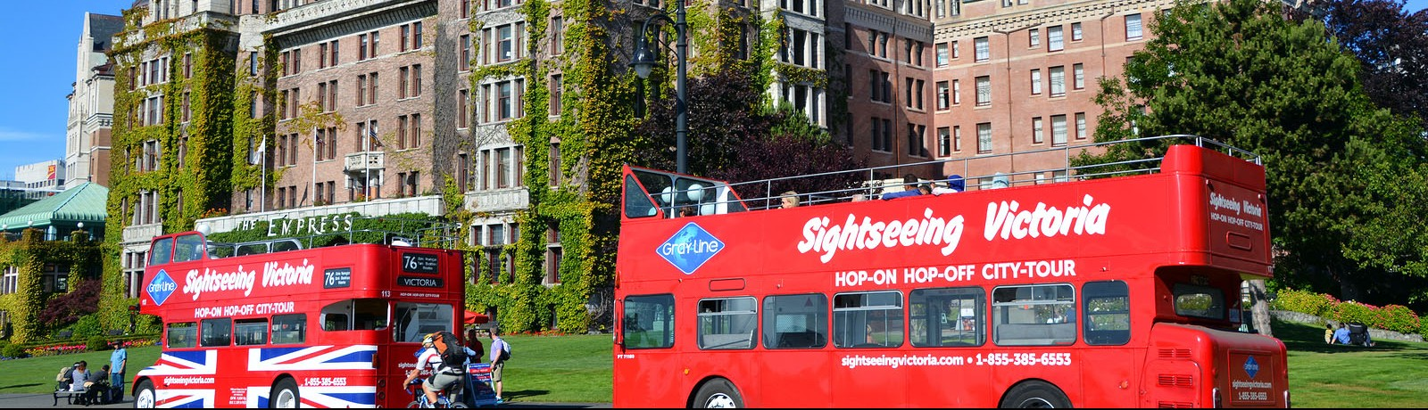 Bus tours in Victoria, BC