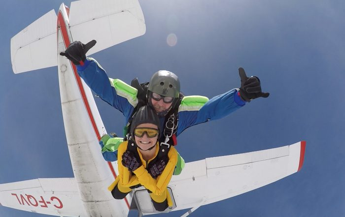 Skydiving, Victoria, BC