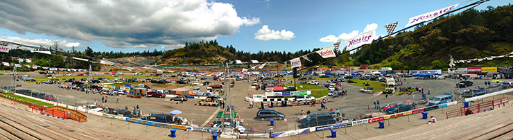 Swap and shop at Western Speedway, Victoria, BC