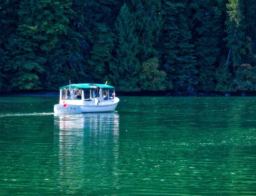 BOAT TOURS AT BUTCHART GARDENS