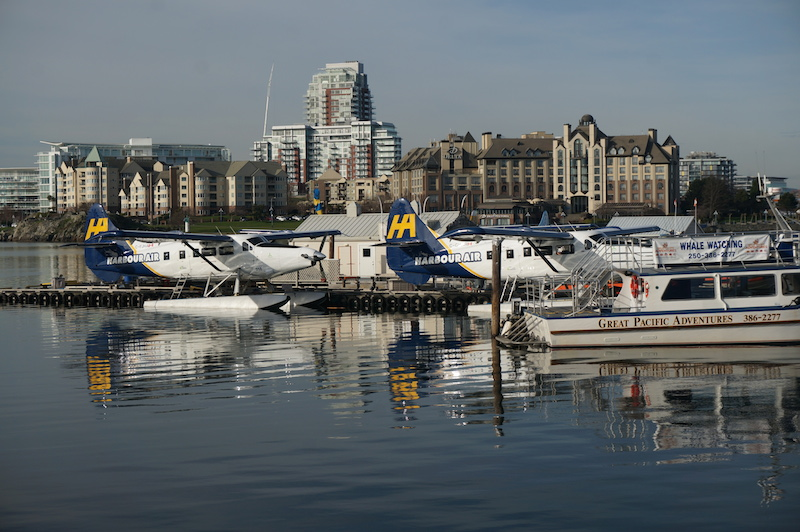 Seaplanes in Victoria, BC, Visitor in Victoria