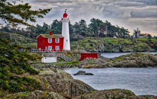 Fisgard Lighthouse, Fort Rodd Hill National Historic Site, Vcitoria, BC