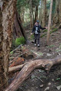 Horth Hill Hiking, Victoria, BC, Visitor in Victoria
