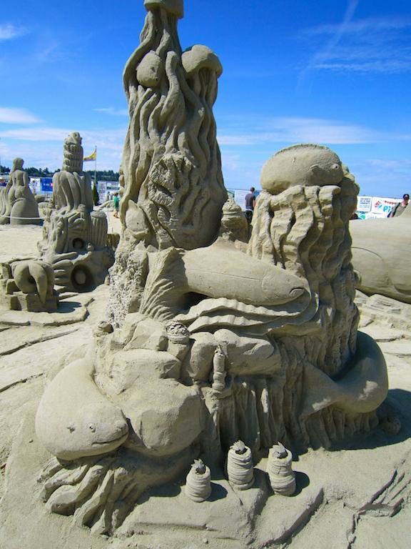 Sand Sculpture, Parksville, BC Visitor in Victoria