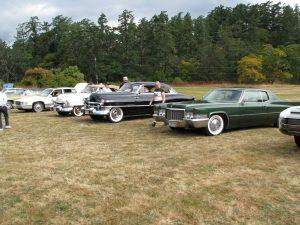 Cadillac Car Show at Fort Rodd Hill, Victoria, BC