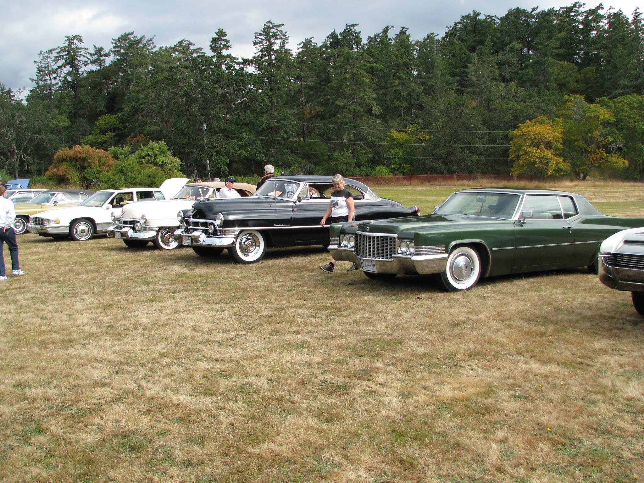 Cadillac Car Shows >> Cadillac Car Show Visitor In Victoria