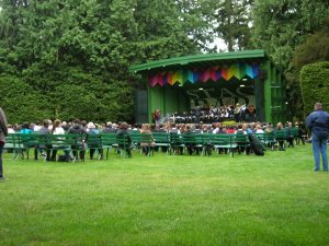 Concerts in Beacon Hill Park at Cameron Bandshell, Victoria, BC, YYJ