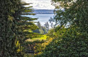 Dominion Brook Park View to Haro Strait, Victoria, BC, Visitor in Victoria, Parks in Victoria