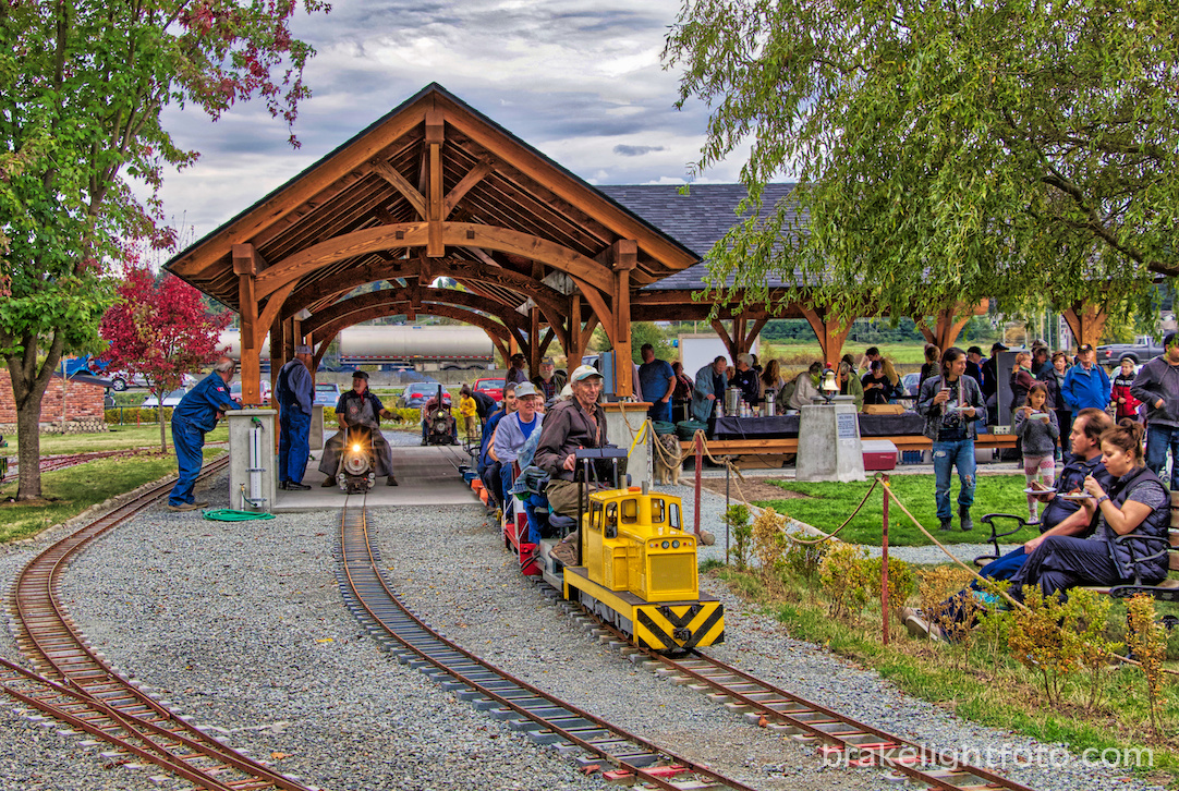 Train Station at Heritage Acres