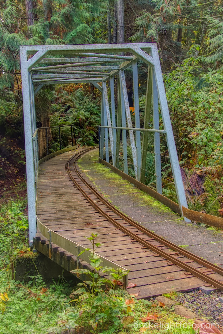 Model Railroad Bridge at Heritage Acres