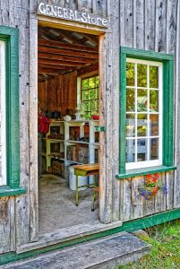 General Store at Heritage Acres, Saanich, BC, Visitor in Victoria