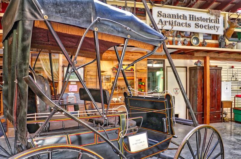 Heritage Acres Musuem, Saanich, BC, Visitor in Victoria