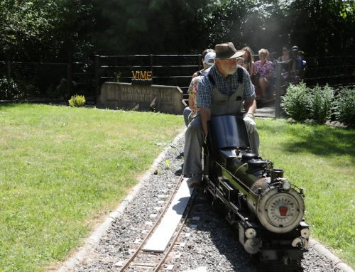 TRAIN RIDES AT HERITAGE ACRES