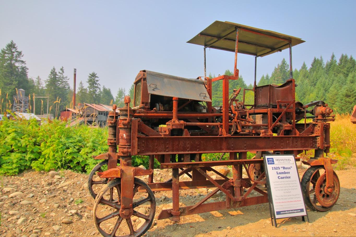 1929 Ross Lumber Carrier