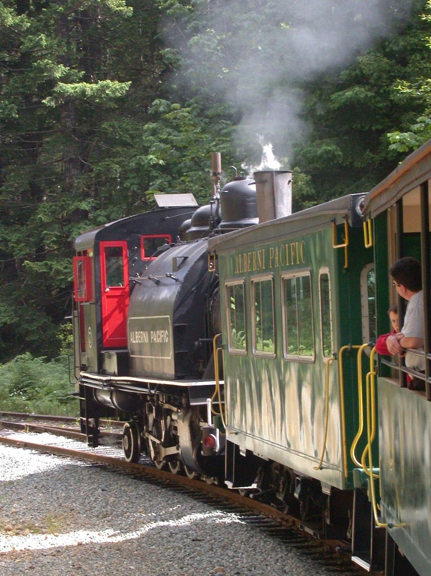 Alberni Pacific Railway to Mclean Mill