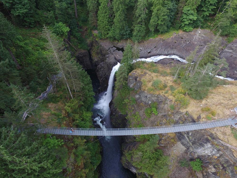 Elk Falls & Elk Falls Suspension Bridge