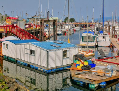 A VISIT TO CAMPBELL RIVER