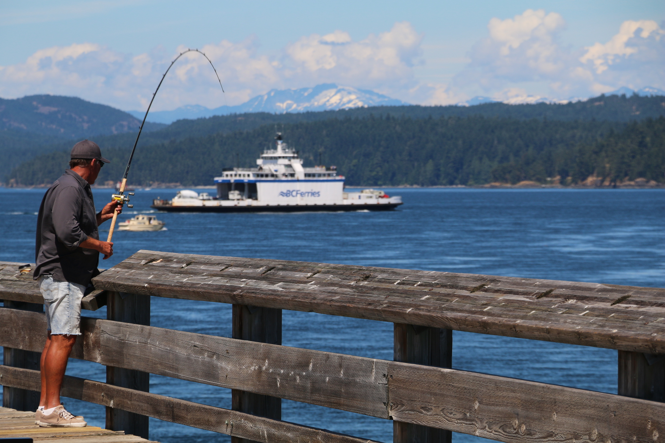 Fishing at the Discovery Pier