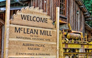 McLean Mill Visitor in Victoria