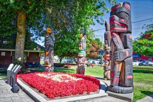 Duncan, BC Visitor in Victoria