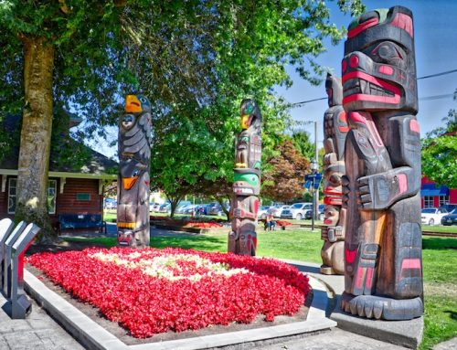 DUNCAN, BC – CITY OF TOTEMS