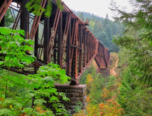 NIAGARA CANYON RAIL TRESTLE – A HIDDEN TREASURE