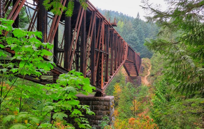 Goldstream Trestle, victoria, bc