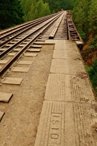 E&N Railway Trestle, Niagara Canyon, BC