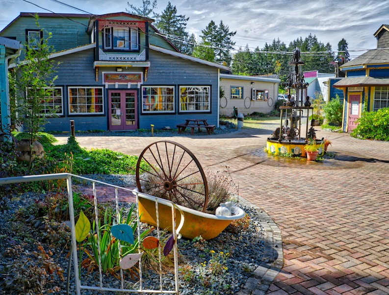 Whippletree Courtyard, Whippletree Junction, Duncan, BC Visitor in Victoria