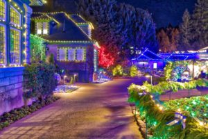 Butchart Gardens Christmas Lights from VisitorinVictoria.ca