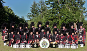 Greater Victoria Police Pipe Band, Victoria, BC