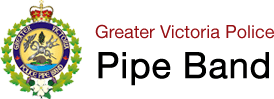 Greater Victoria Pipe Band Logo, Robbie Burns Night