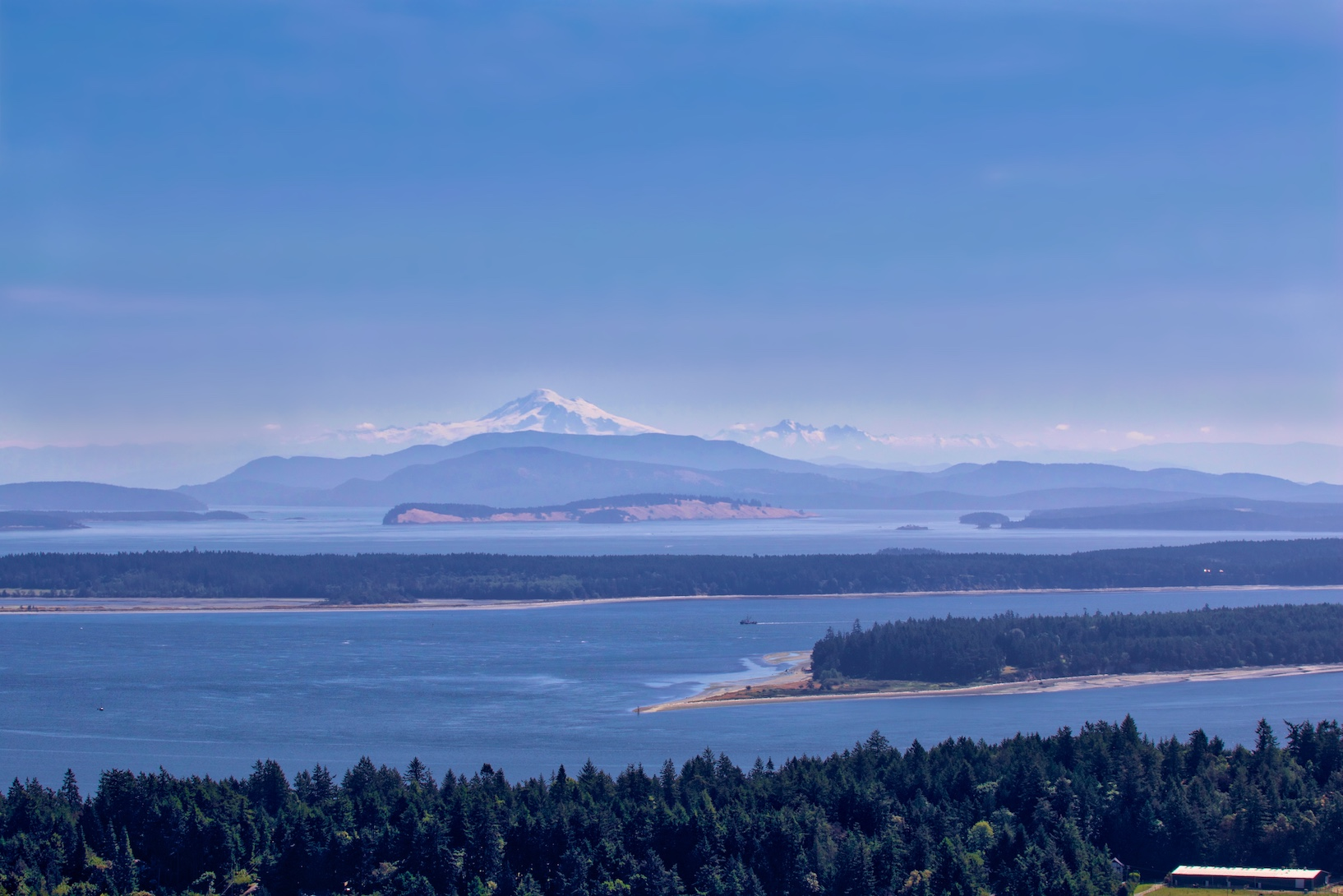 Mount Baker & the Gulf Islands