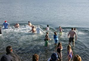 Polar Bear Swim, Victoria, BC