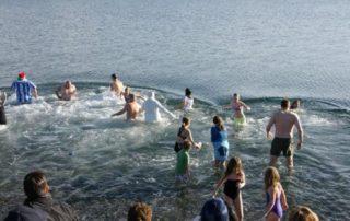 Polar Bear Swim, Victoria, BC
