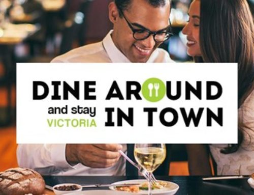 DINE AROUND AND STAY IN TOWN