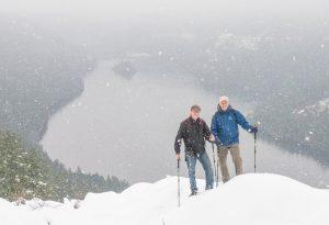 Gowlland Todd Provincial Park winter